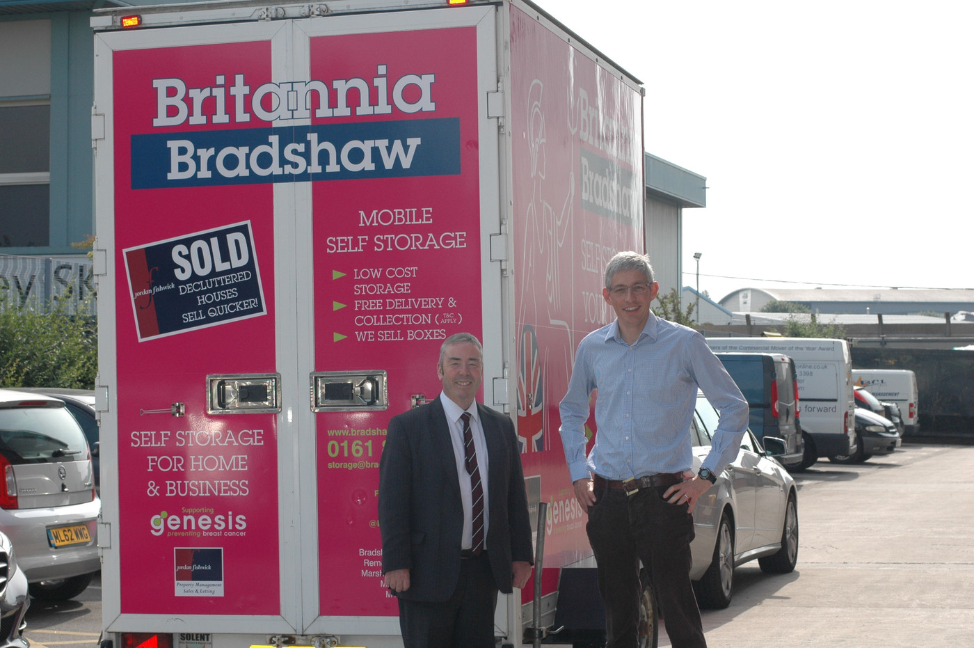 Mobile Storage Manchester Prices Britannia Bradshaws