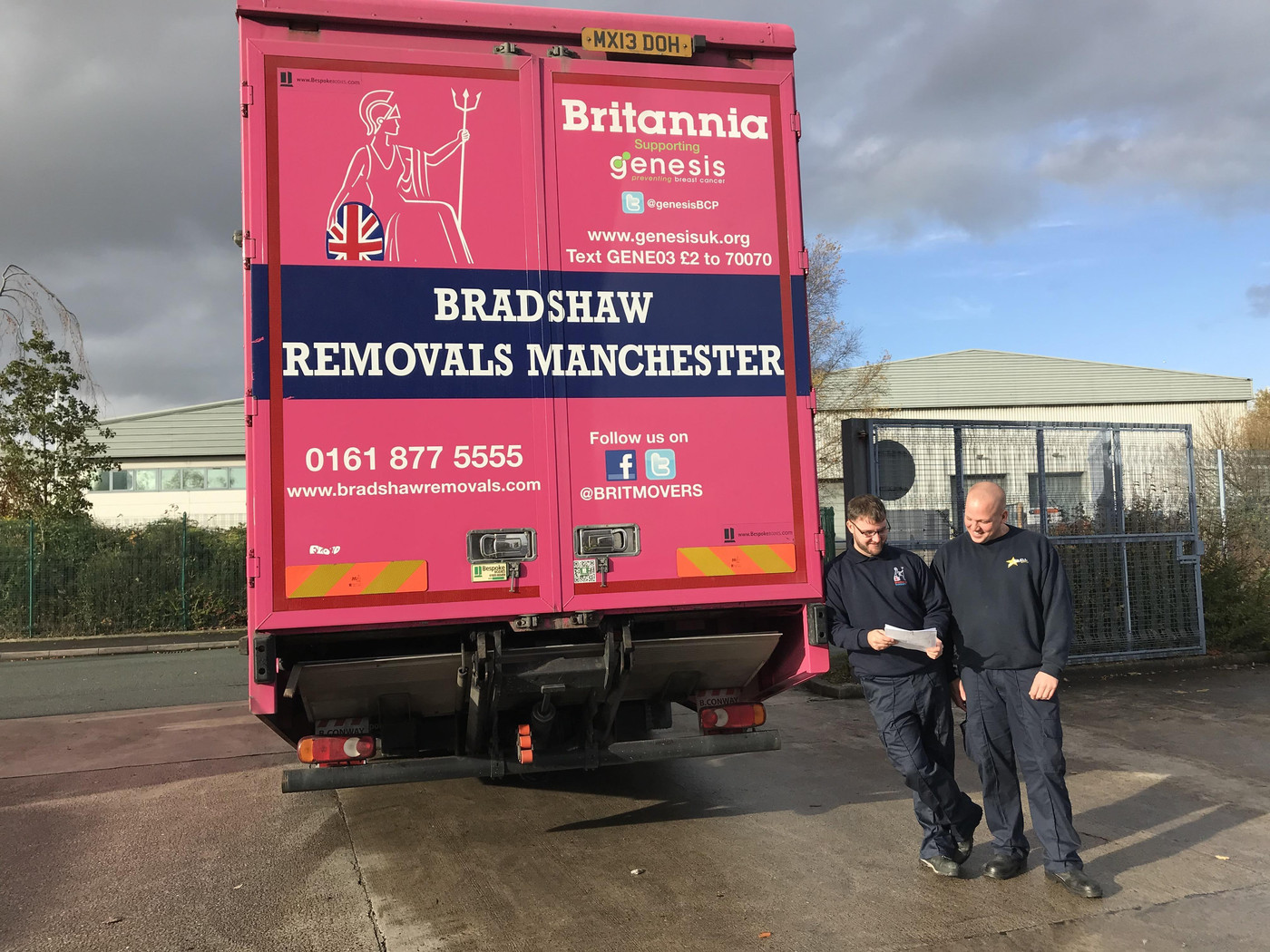 UK Removals to Manchester Britannia Bradshaw